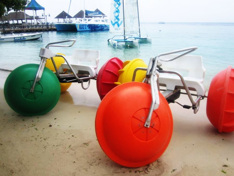 watersports offered at Sandals Ochi Beach Club