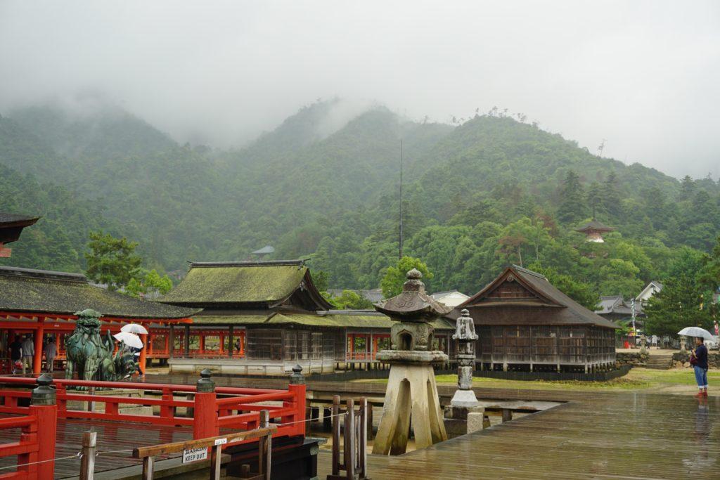 Miyajima Island view