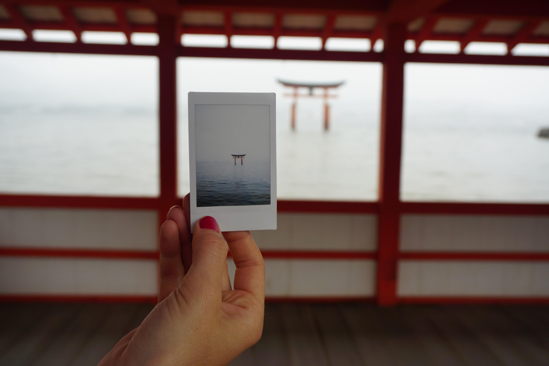 Miyajima Polaroid
