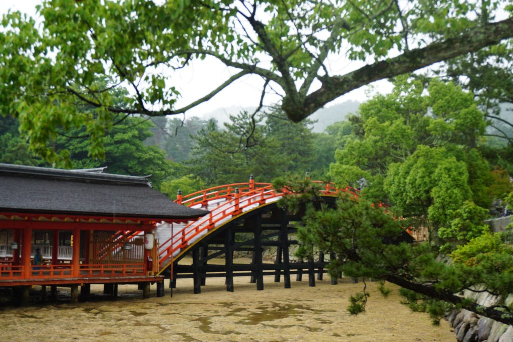 Bridge on Miyajima Island