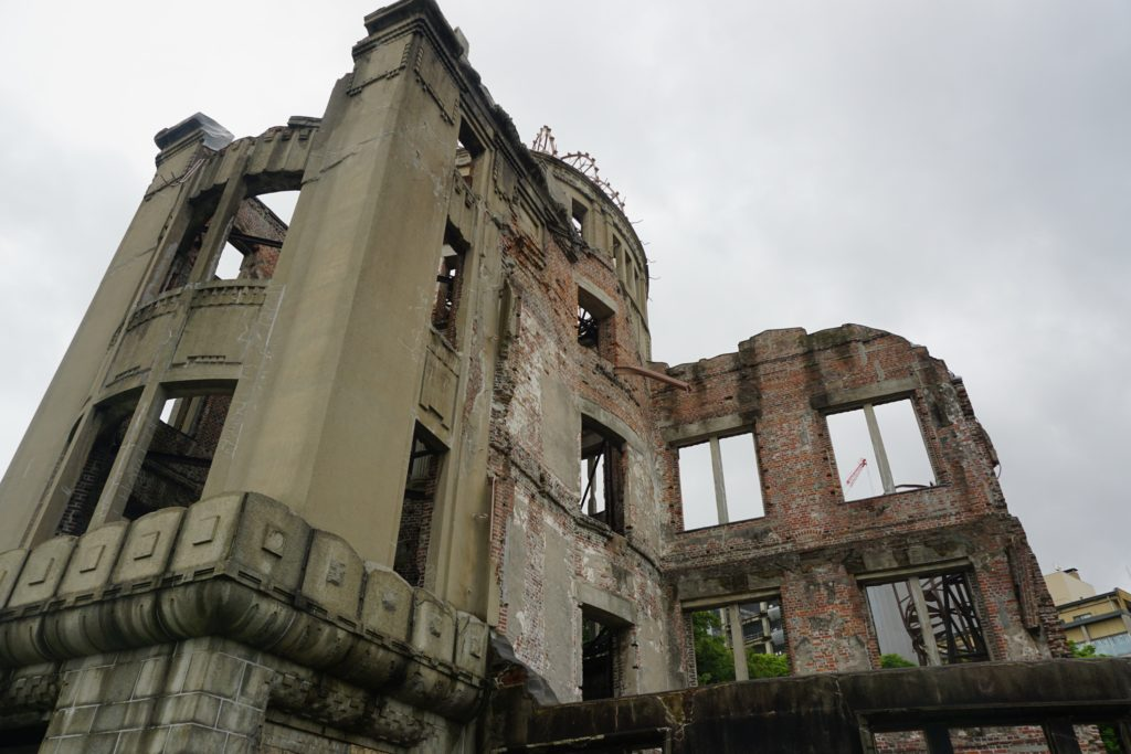 View of the Atomic Bomb Dome - Hiroshima day trip