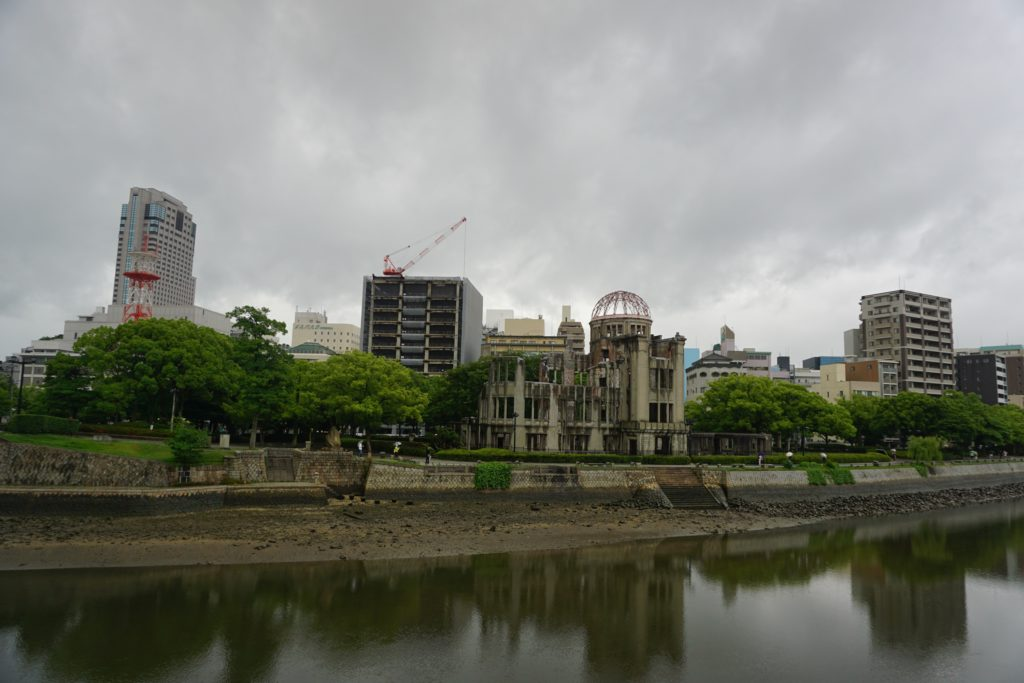 Atomic Bomb Dome - Hiroshima day trip