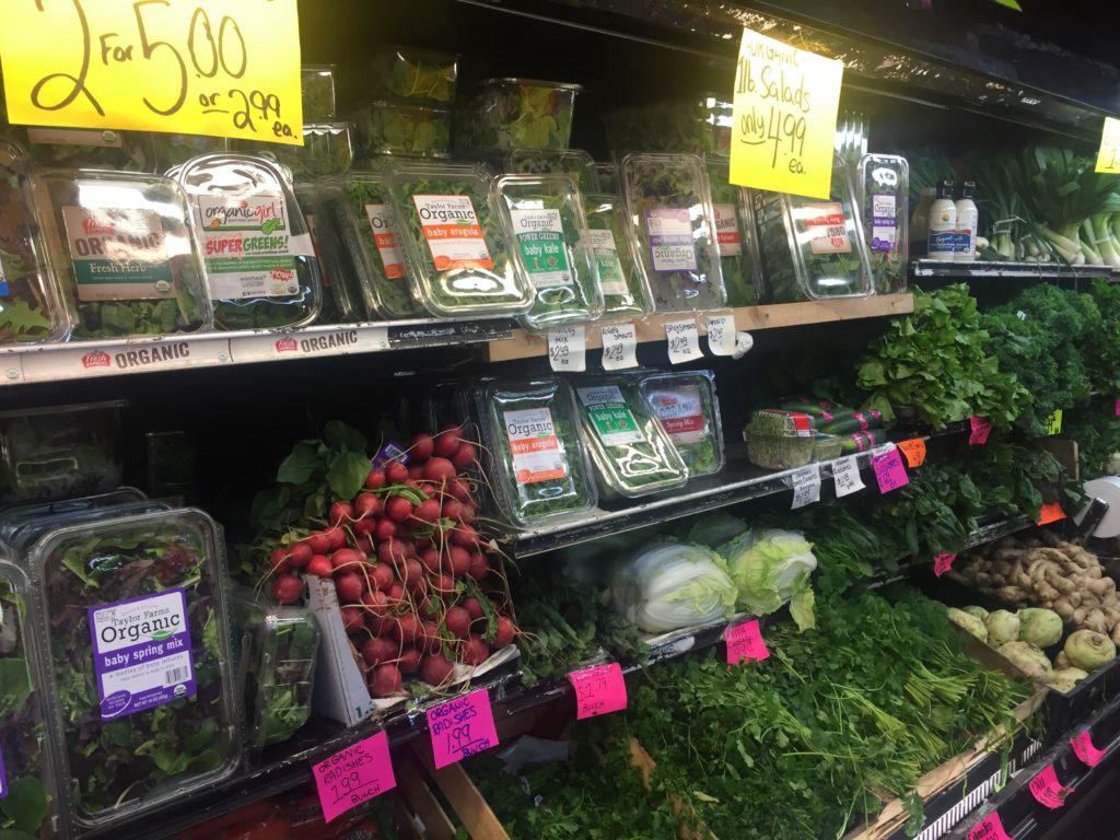 Fresh produce at Detwiler Market
