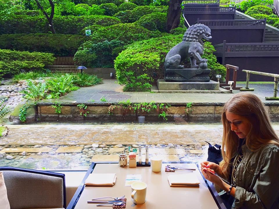 Garden view at the Prince Sakura Tower Tokyo