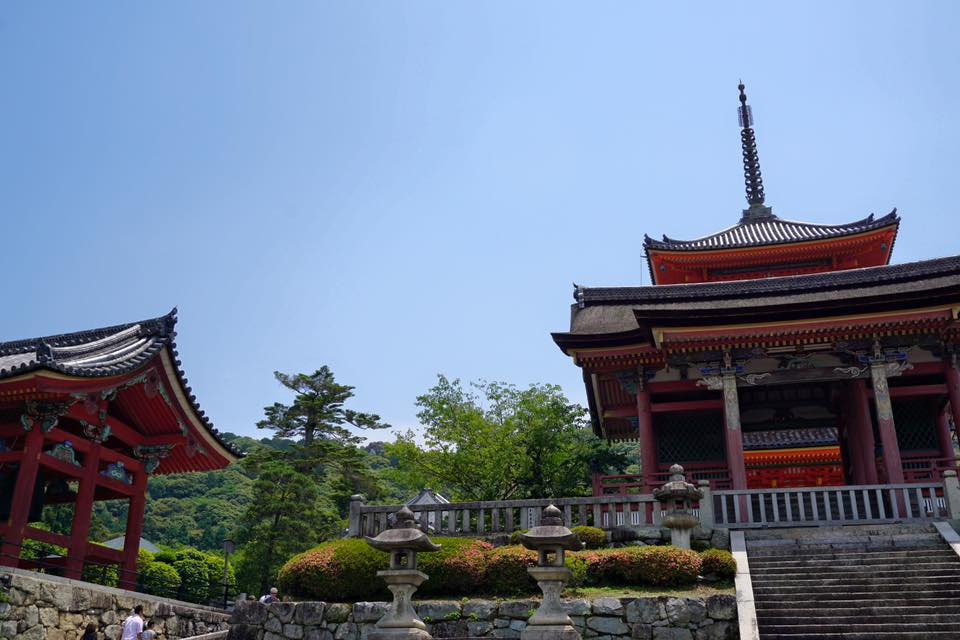 Kiyomizudera Temple in Kyoto