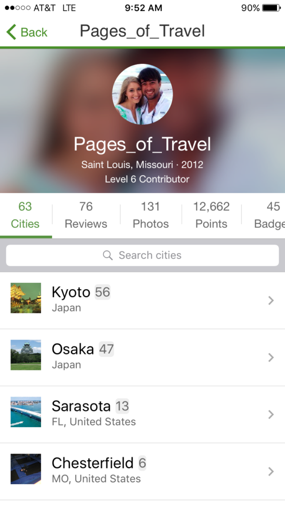 TripAdvisor is one of the best apps for Japan to use when searching for hotels and attractions.