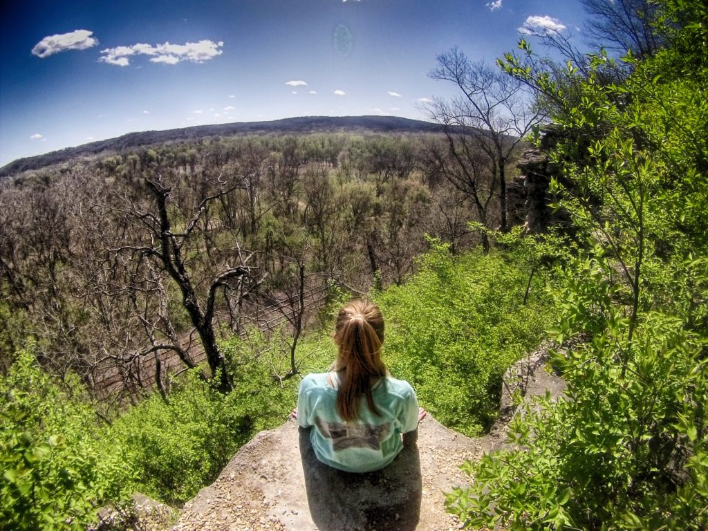 View from Castlewood State Park in St. Louis