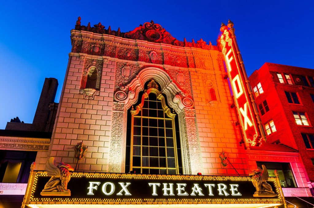 The Fabulous Fox Theater in St Louis, Missouri