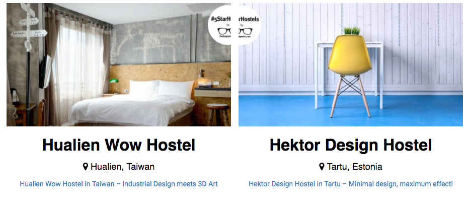 5 Star Hostels