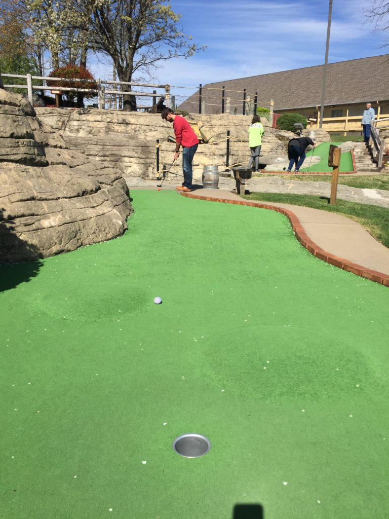 Pirate's Cove Adventure Golf in Branson, Missouri