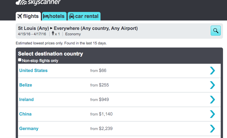The Most Useful Websites for Trip Planning - Skyscanner