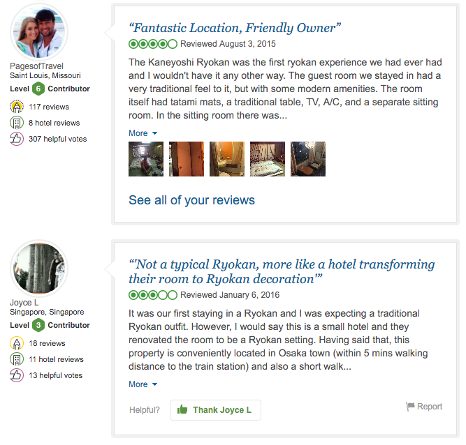 The Most Useful Websites for Trip Planning - Trip Advisor reviews