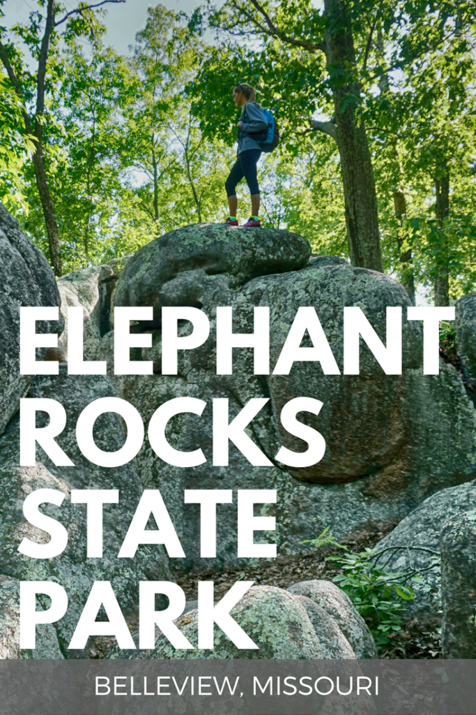 Ever heard of Elephant Rocks State Park? You'll feel like you're on another planet when you see how big these boulders of granite are. www.pagesoftravel.org