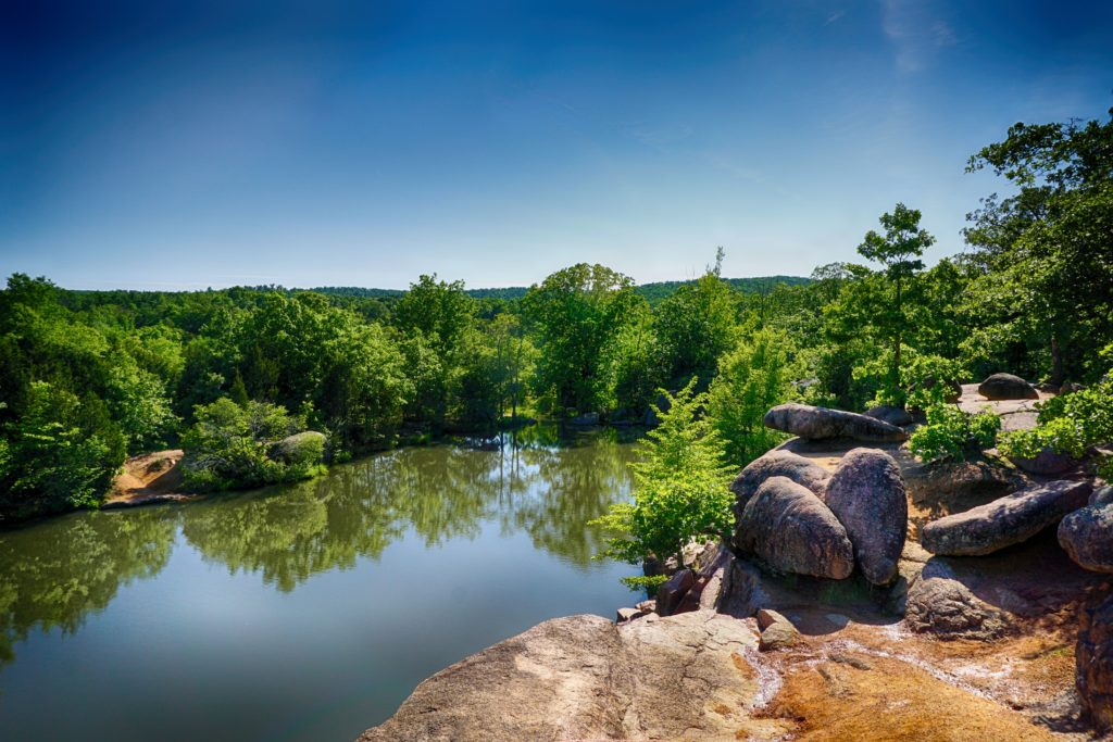 Elephant Rocks State Park in Belleview, Missouri