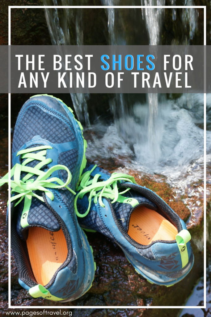 Here is a comprehensive list of the best shoes for travel of any kind! Complete with both men's shoes and women's shoes plus some tips for comfortable footwear as well.