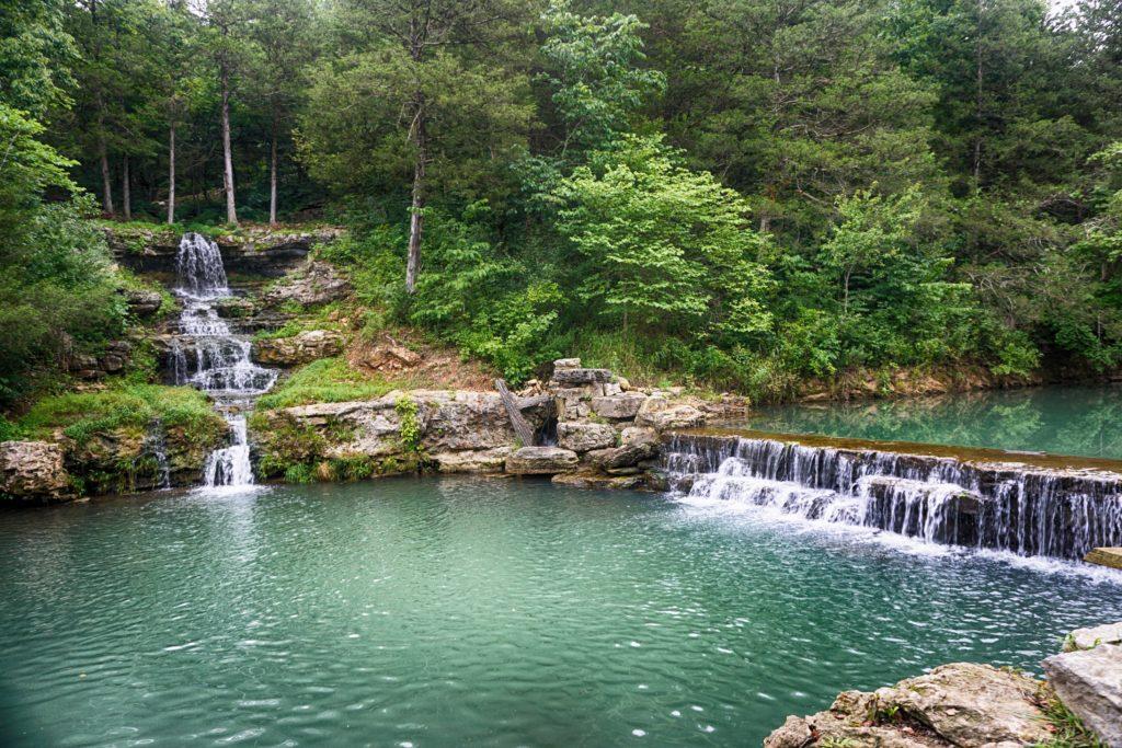 Waterfalls at Dogwood Canyon