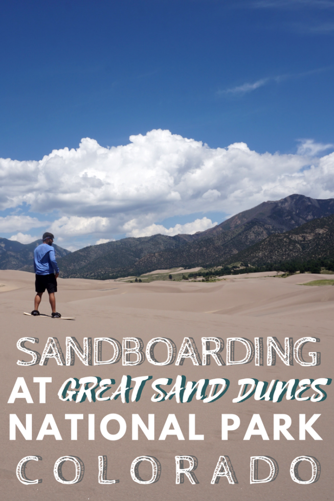 Go sandboarding, hiking, and explore the beauty of the Great Sand Dunes National Park in Colorado. www.pagesoftravel.org