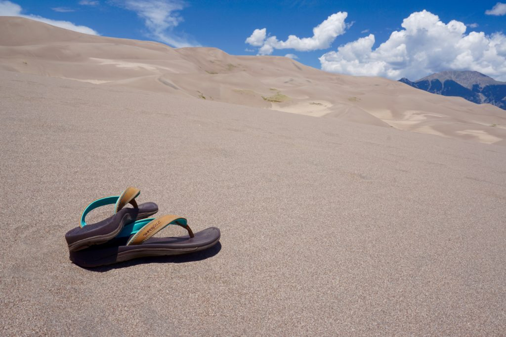 Superfeet Sandals - beach checklist