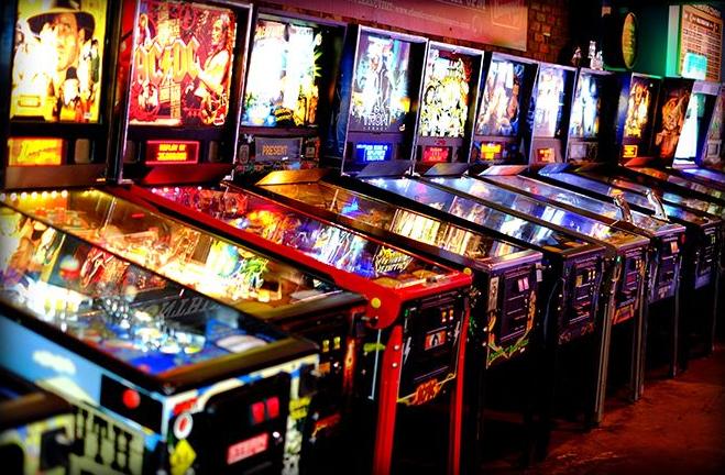 arcade games at 1up arcade bar in Denver, Colorado (Unique things to do in Denver)