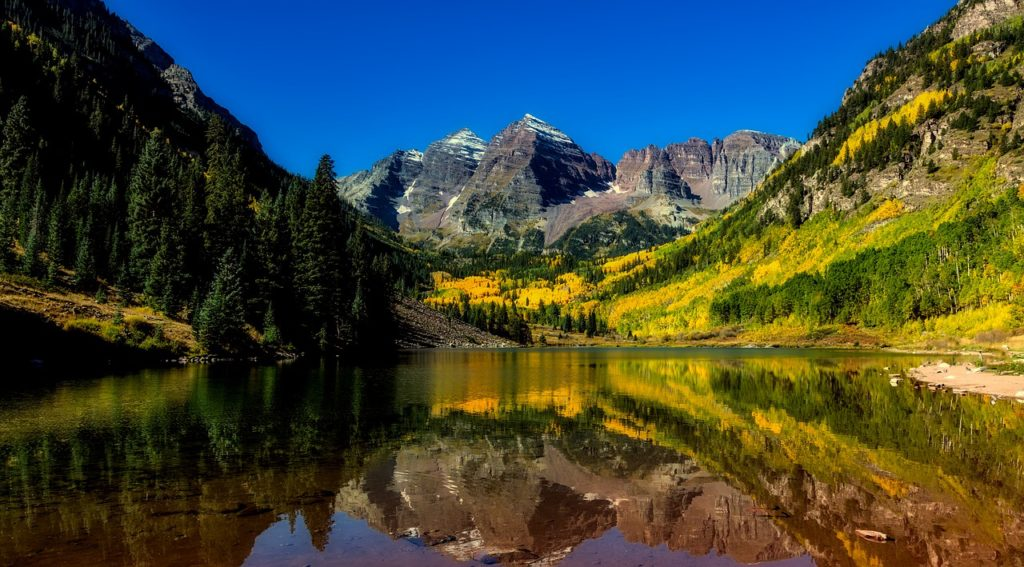 Maroon Bells - Pages of Travel