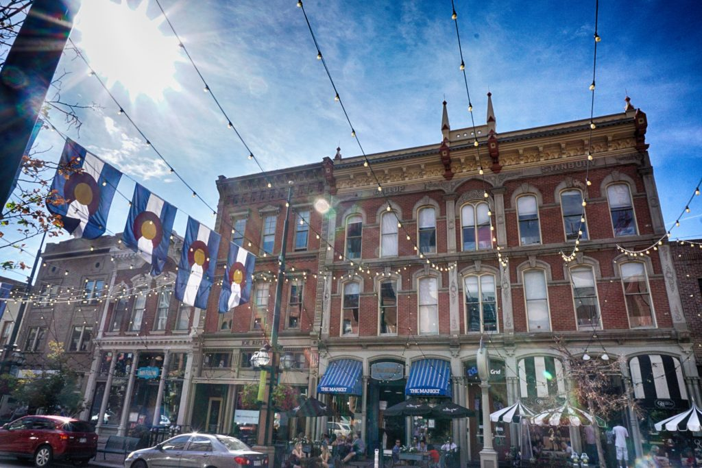 Larimer Square in Denver, Colorado - Unique things to do in Denver this weekend