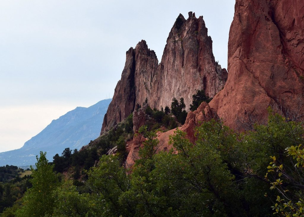 garden of the gods - Colorado road trip