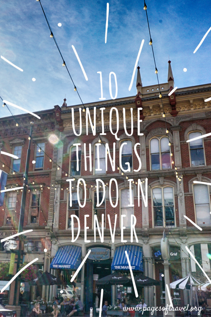 As in any city there are many remarkable things to do while visiting Denver, Colorado! Read more about these 10 unique things to do in Denver! #Denver #Colorado #USA #RoadTrip