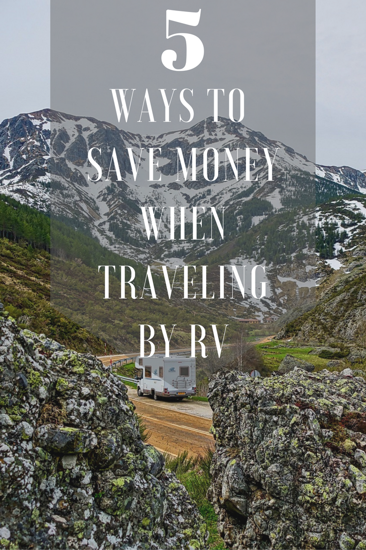 Have you tried RV travel before? These 5 ways to save money when traveling by RV are sure to make you want to plan your next road trip!
