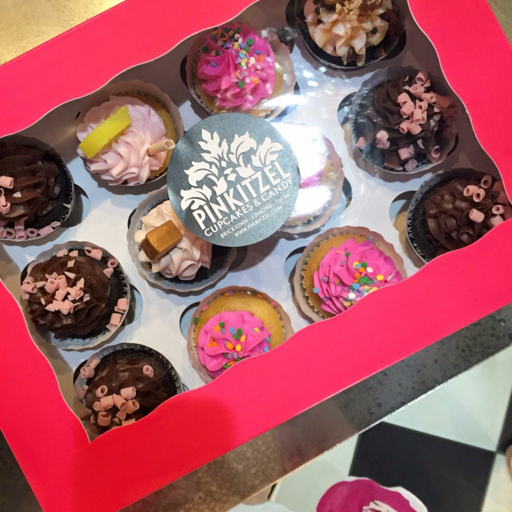 Pinkitzel Cupcakes and Candy in Tulsa
