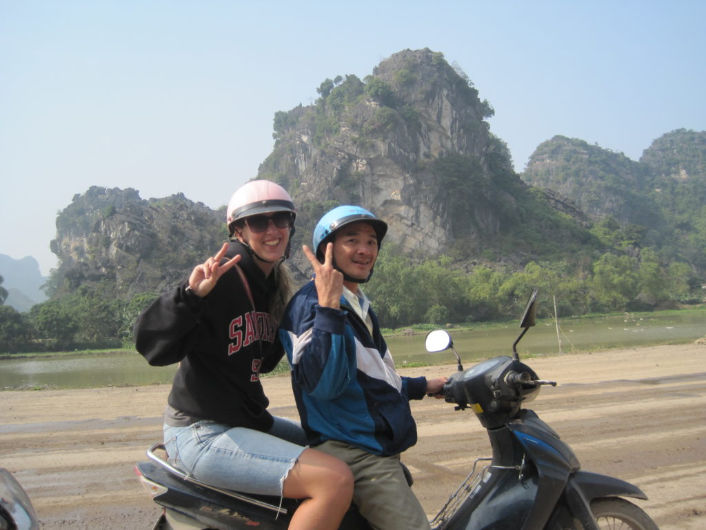 Motorcycle backpacking mistake