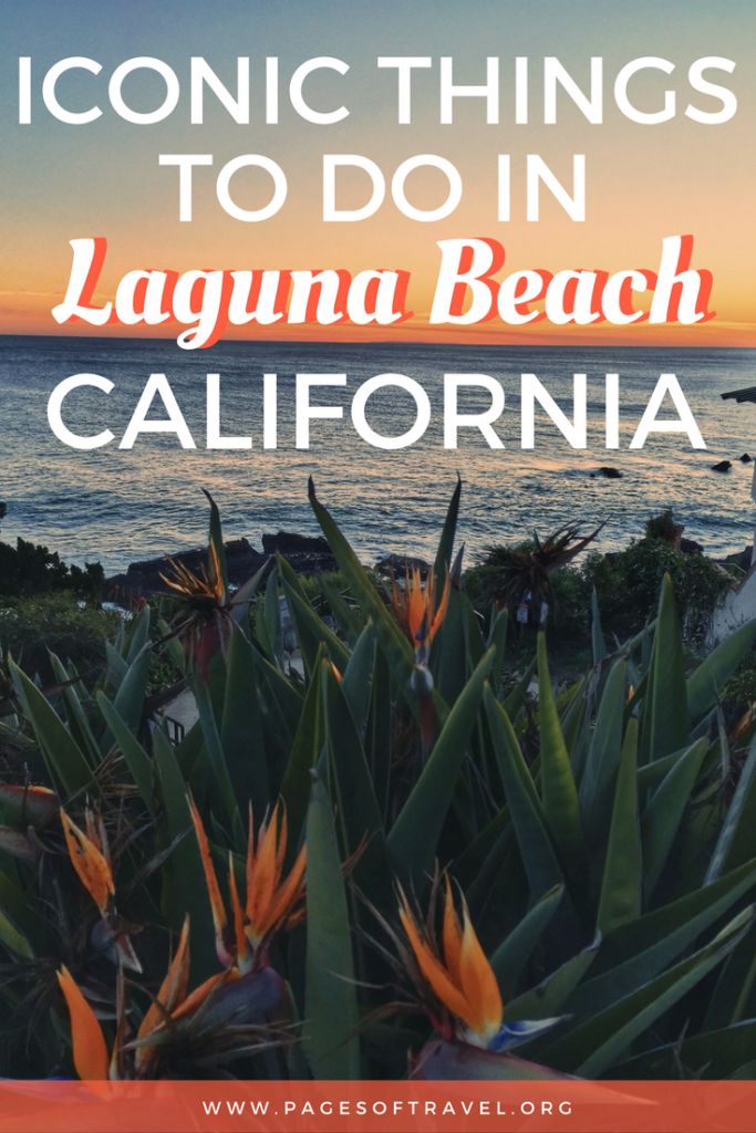 Laguna Beach, California is a small costal city located south of Los Angeles. It is well-known for its beaches, art galleries, and tide pools. It would be shame to miss this relaxed, friendly city while on a road trip in California!