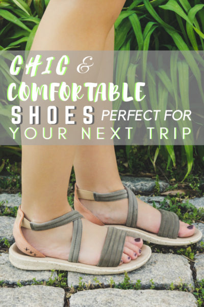 Having comfortable travel shoes is not only a priority, it's a necessity. These lightweight and chic shoes are perfect for your next trip!