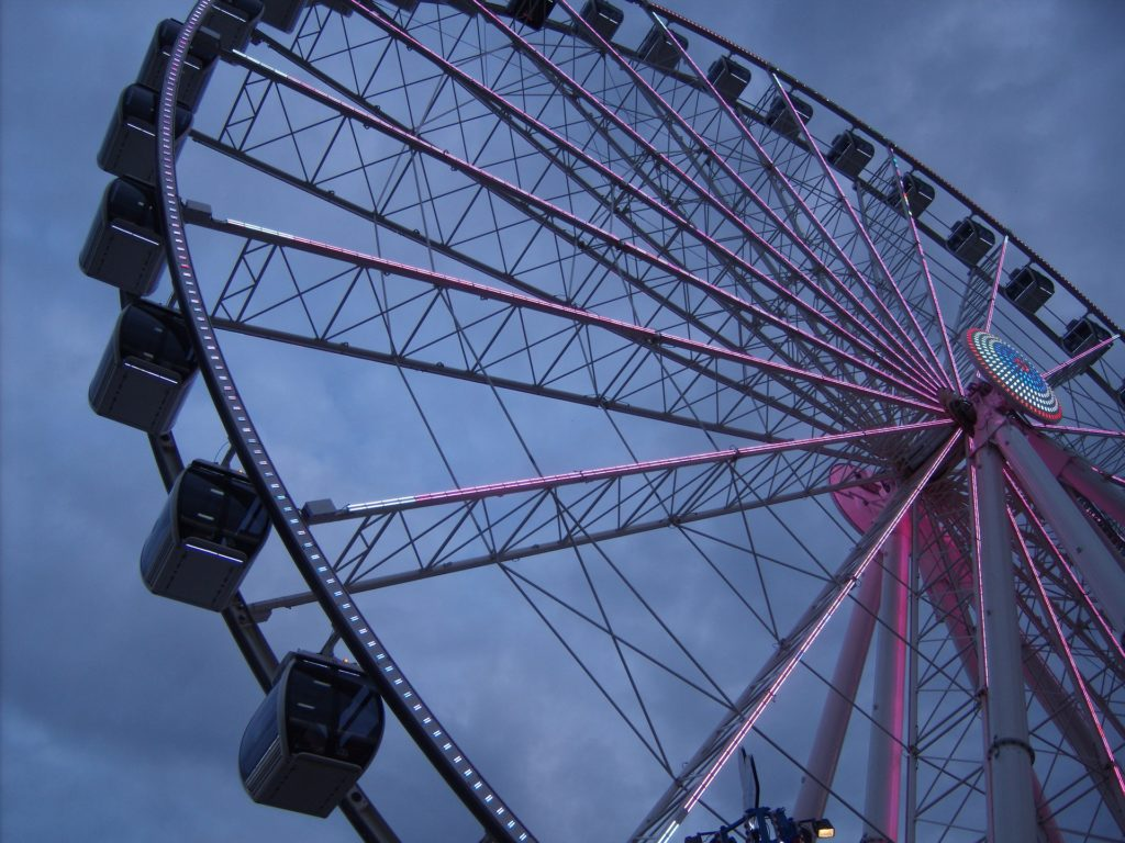 Ferris Wheel on The Island in Pigeon Forge, Tennessee