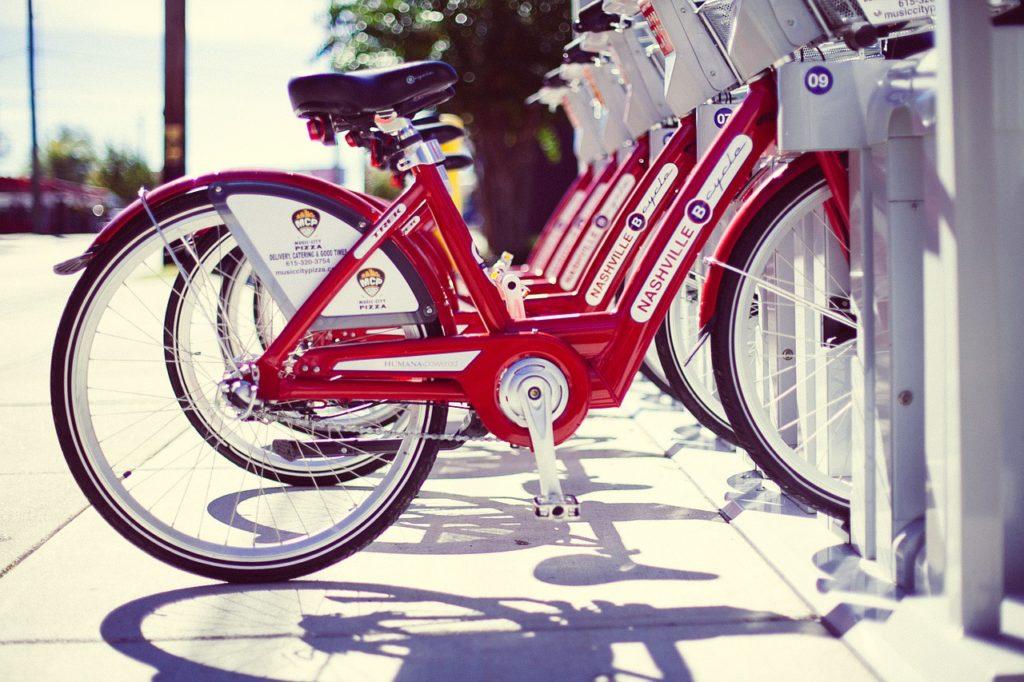 Rental bikes in Nashville
