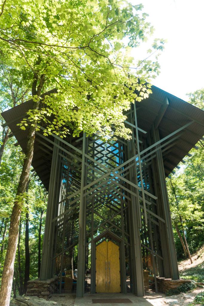 Thorncrown Chapel in Eureka Springs, Arkansas