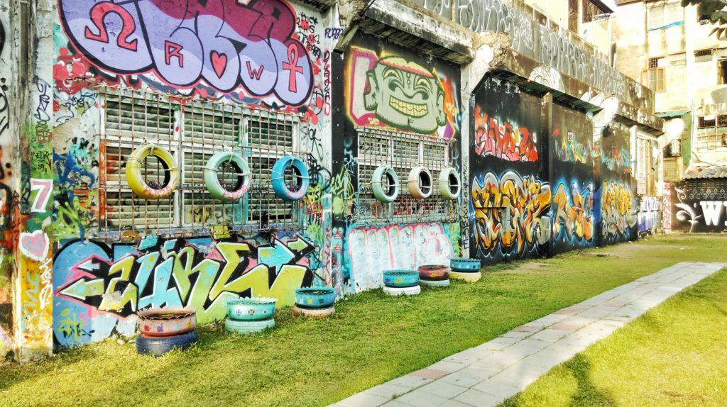Street art in Bangkok, Thailand