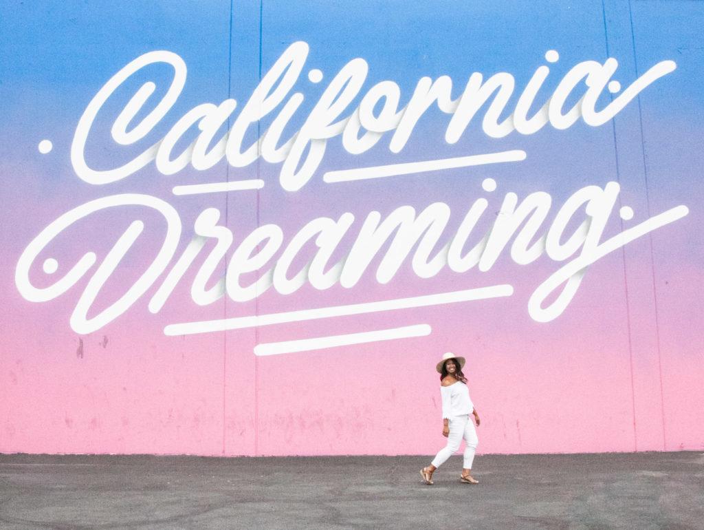 California Dreaming mural - coolest street art around the world