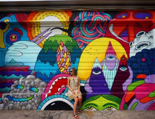 RiNo Mural in Denver - coolest street art