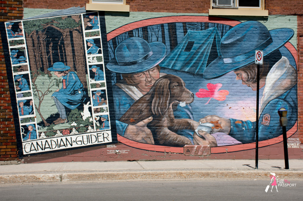 Canadian guides coolest street art mural in Ontario