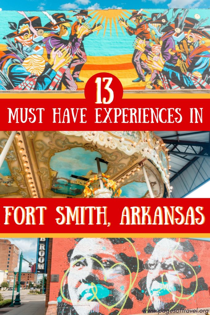 You're sure to find the history of Fort Smith, Arkansas charming and these places to visit, eat, and stay are perfect for your weekend trip to Fort Smith!