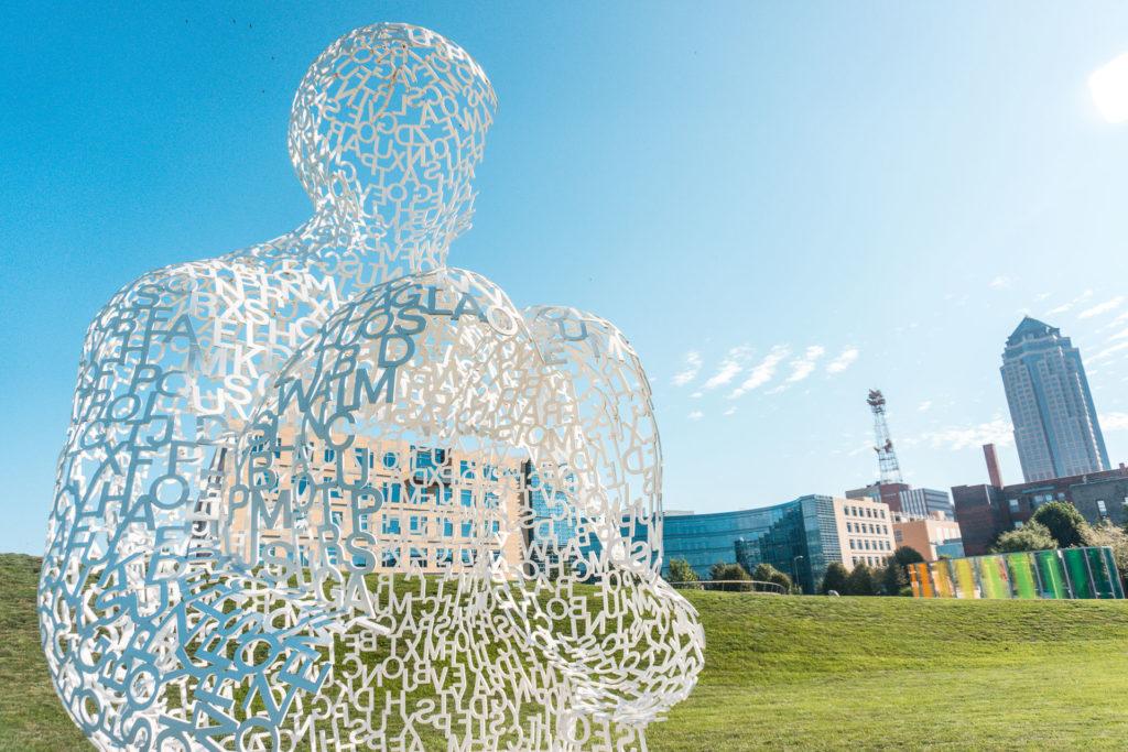 Pappajohn Sculpture Park in Des Moines, Iowa