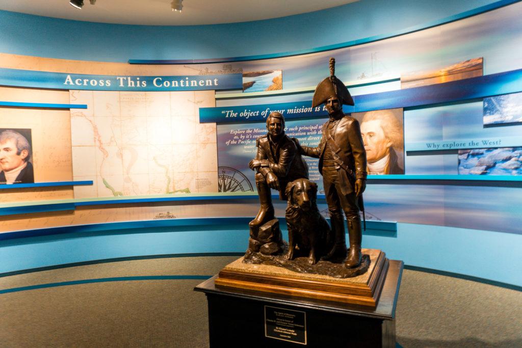 Lewis & Clark Visitor Center in Alton