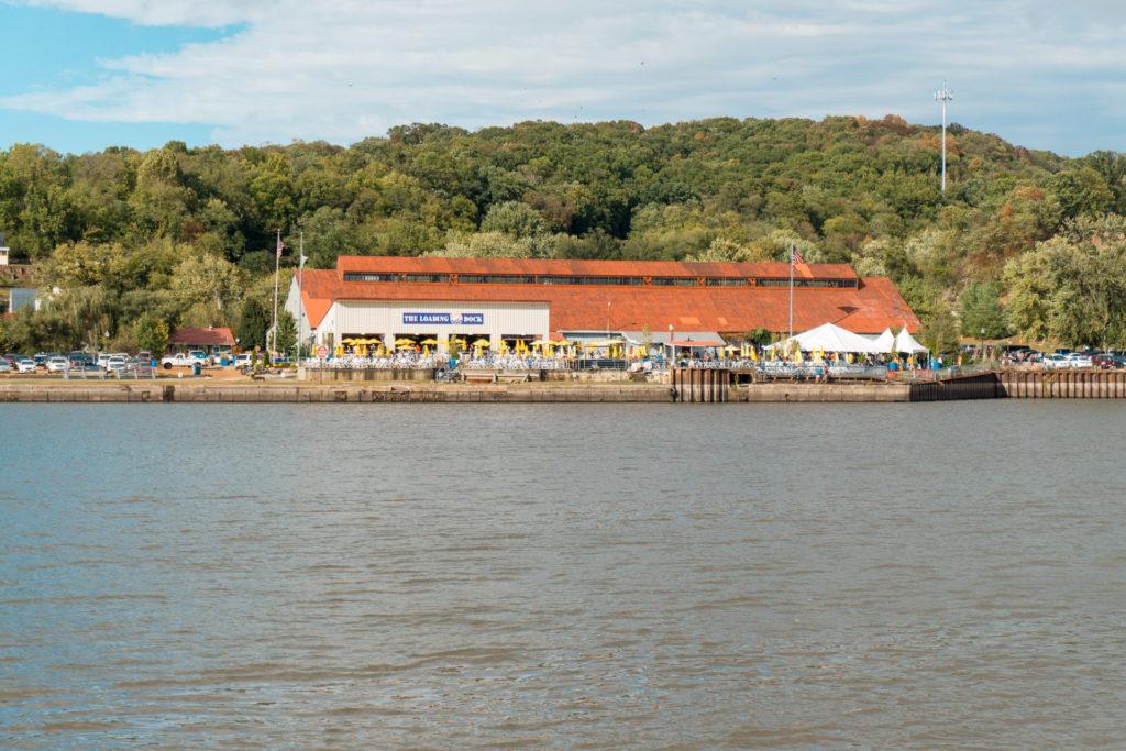 The Loading Dock restaurant in Alton