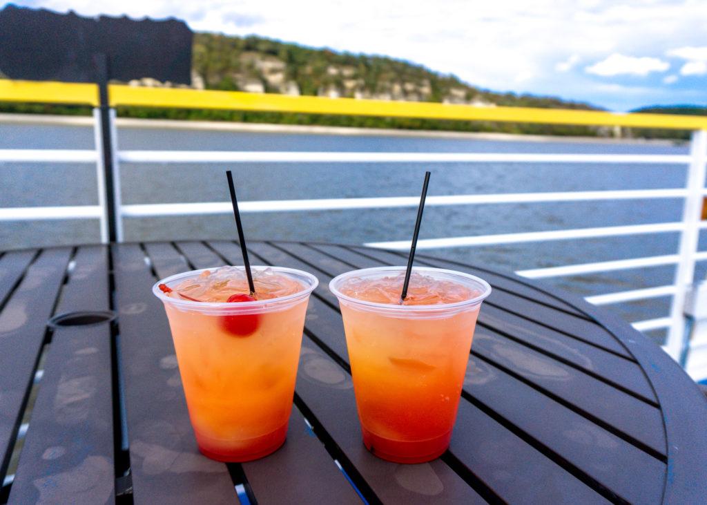 Drinks on the Hakuna Matata River Cruise