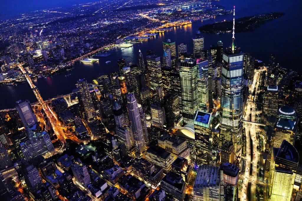 New York City skyline east coast road trip
