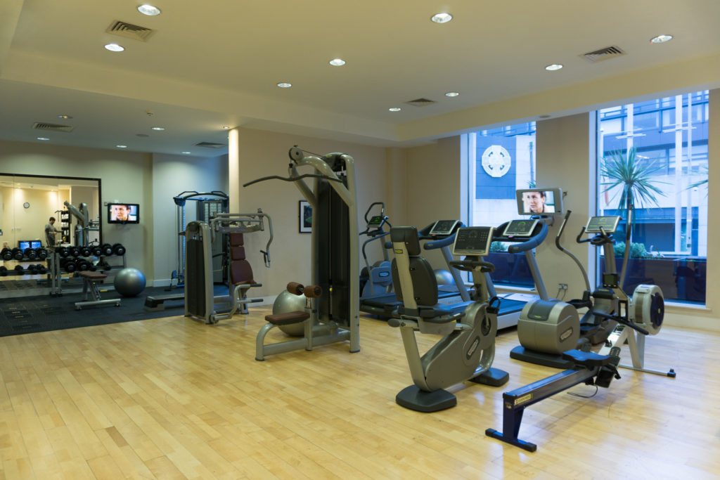 workout facility and hotel grounds of the Croke Park Hotel in Dublin