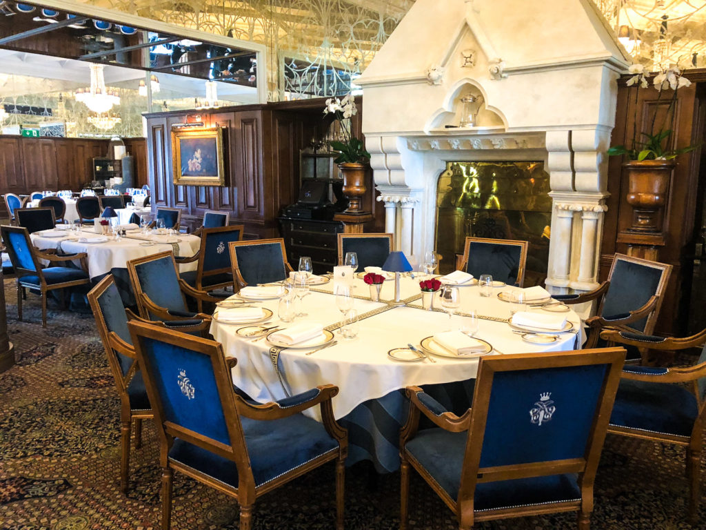 King George V Dining Room at Ashford Castle