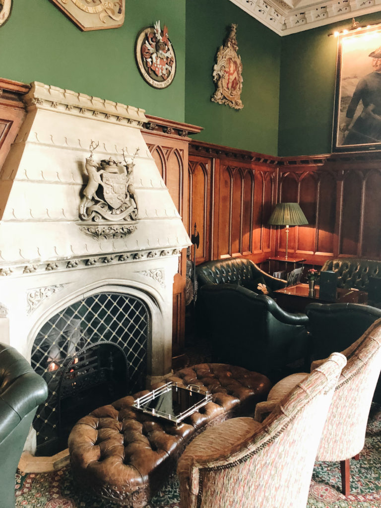 The Prince of Wales Bar at Ashford Castle