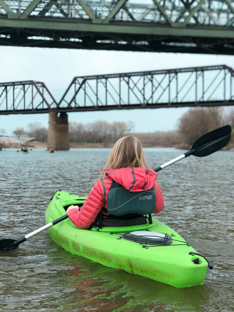 Kayak the Kansas River at Lewis & Clark Park at Kaw Point