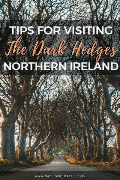 Many may recognize The Dark Hedges as one of the Game of Thrones filming locations in Northern Ireland as it was used as The Kingsroad in season two. If you are planning a trip to Ireland and happen to visit Northern Ireland as well, you cannot afford to miss visiting The Dark Hedges. #TheDarkHedges #Ireland #NorthernIreland #Europe #GOT #GameofThrones